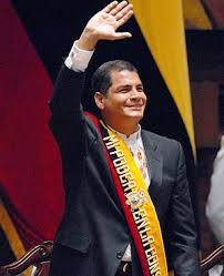 Correa -Equador Prsident